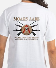 Molon Labe - Spartan Shield Shirt