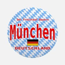 Munich Ornament (Round)