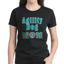 Agility Dog Mom Hearts Tee