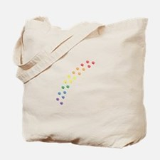 Rainbow Paws Tote Bag