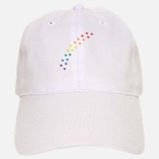 Rainbow Paws Baseball Baseball Cap