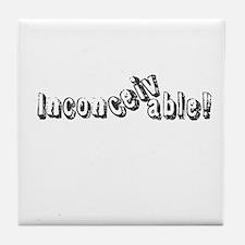 Inconceivable Tile Coaster