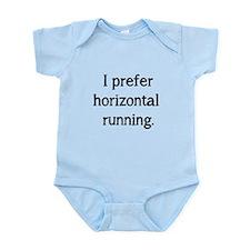 Horizontal Running Infant Bodysuit