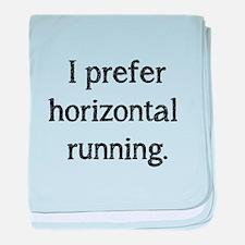 Horizontal Running baby blanket