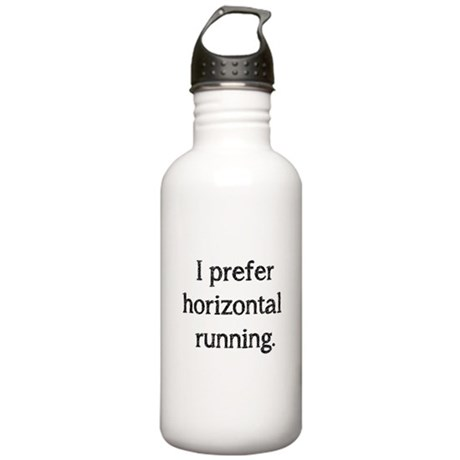 Horizontal Running Stainless Water Bottle 1.0L