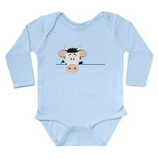 Cow Long Sleeve Infant Bodysuit