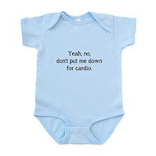 No cardio Infant Bodysuit