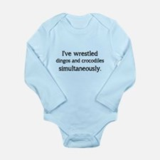 Badarse Long Sleeve Infant Bodysuit