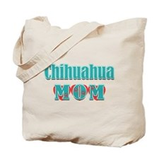 Chihuahua Mom Hearts Tote Bag