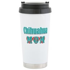 Chihuahua Mom Hearts Travel Coffee Mug