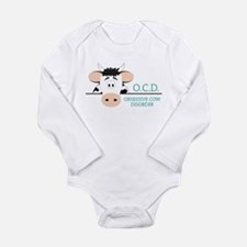 O C D Long Sleeve Infant Bodysuit