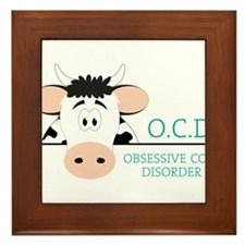 O C D Framed Tile