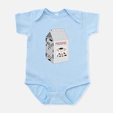 Milk Carton Infant Bodysuit