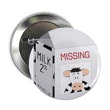"""Milk Carton 2.25"""" Button"""