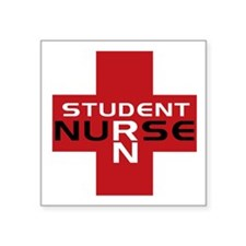 Student RN Rectangle Sticker