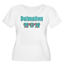 Dalmation Mom Hearts T-Shirt