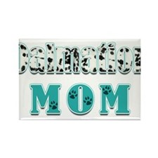 Dalmation Mom Colors Rectangle Magnet