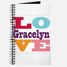I Love Gracelyn Journal