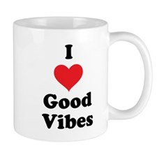 I Love Good Vibes Mug
