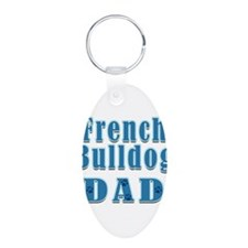 French Bulldog Dad Keychains
