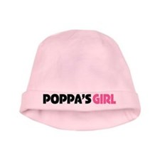 Poppas Girl baby hat