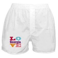 I Love Georgia Boxer Shorts