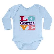 I Love Georgia Onesie Romper Suit