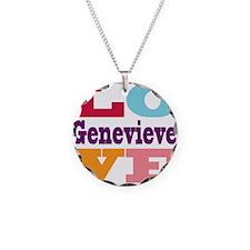 I Love Genevieve Necklace