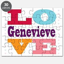 I Love Genevieve Puzzle