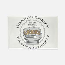 Irish Rebel Gear (TM) Question Authority Rectangle
