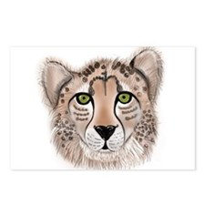 Leopard - ZooWhirlz Postcards (Package of 8)