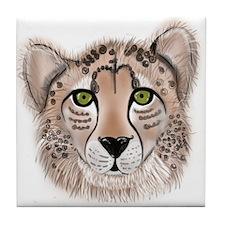 Leopard - ZooWhirlz Tile Coaster