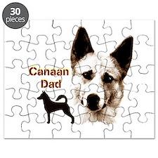 canaan dog dad Puzzle
