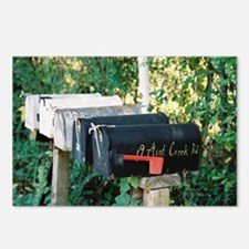 Mailboxes Postcards (Package of 8)