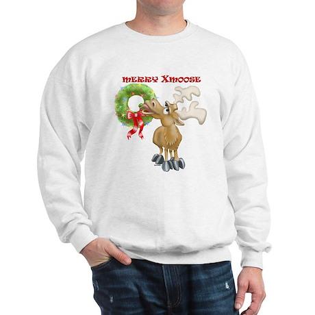 Merry Xmoose / Lights Stay Lit Sweatshirt