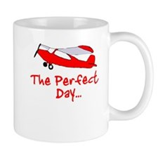 Red Airplane Mug