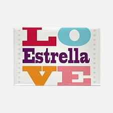 I Love Estrella Rectangle Magnet