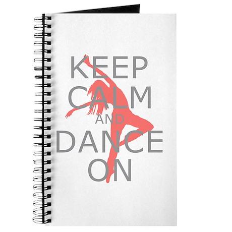Modern Keep Calm and Dance On Journal