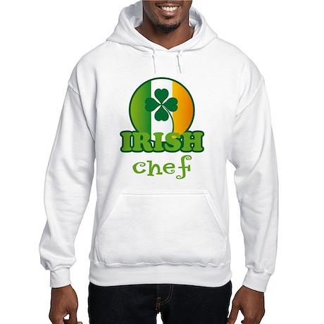Irish Chef St Patricks Hooded Sweatshirt