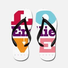I Love Emilie Flip Flops