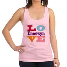 I Love Emersyn Racerback Tank Top