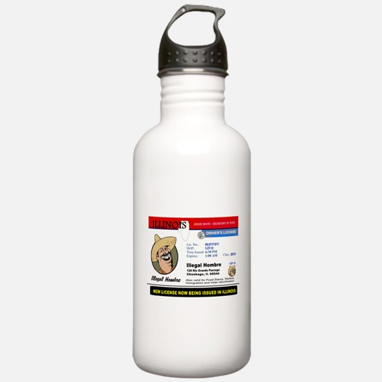 DEMOCRATS HEAVEN Water Bottle