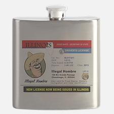 DEMOCRATS HEAVEN Flask