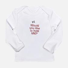Unique Cuddley Long Sleeve Infant T-Shirt