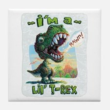 New Lil' T Rex Tile Coaster