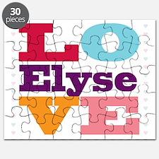 I Love Elyse Puzzle