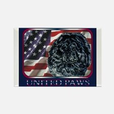 Chow Chow United Paws Rectangle Magnet