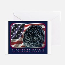 Chow Chow United Paws Greeting Cards (Pk of 10