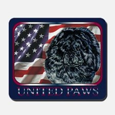 Chow Chow United Paws Mousepad
