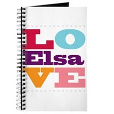 I Love Elsa Journal